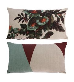 HK living-collectie Cushion Kyoto with print (35x60)
