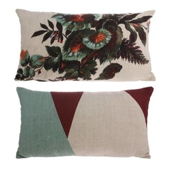 HKliving Cushion Kyoto with print (35x60)