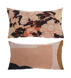 HK living-collectie Cushion Tokyo with print (35x60)