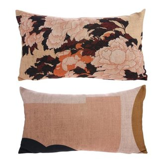HKliving Cushion Tokyo with print (35x60)