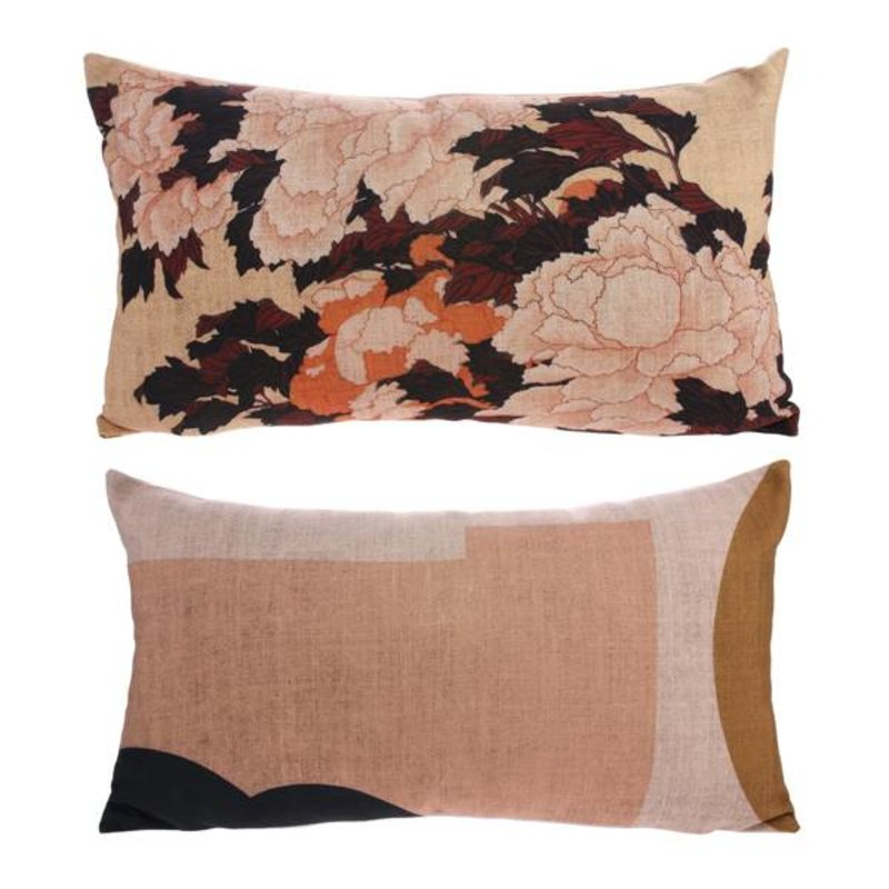 HKliving-collectie Cushion Tokyo with print (35x60)