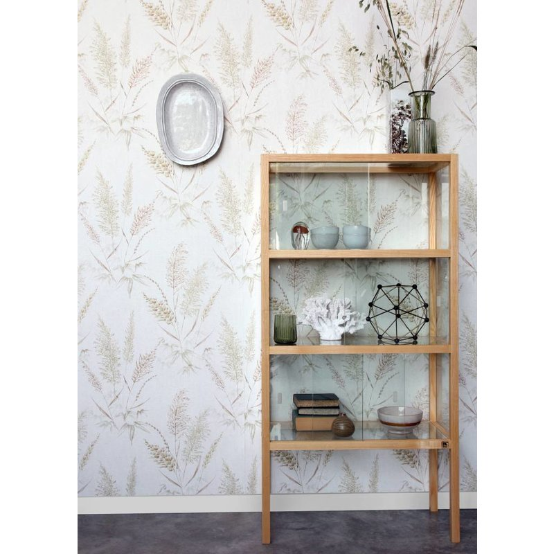 HK living-collectie Behang Vintage Reeds