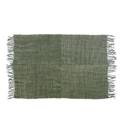 HK living-collectie Linen rug army green