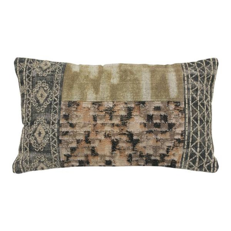 HK living-collectie Cushion Patched multicolor