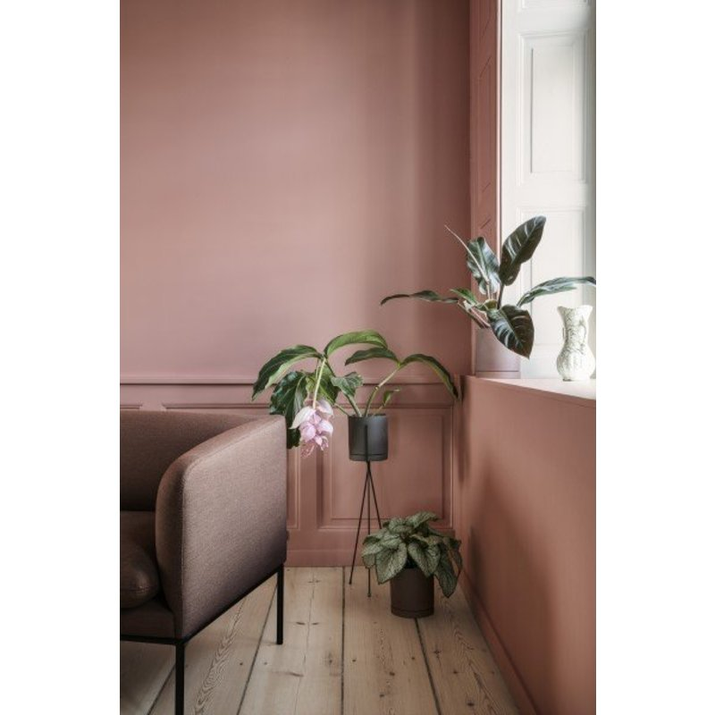 ferm LIVING-collectie Sekki bloempot houtskool Large