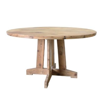 HKliving Dinner table teak round