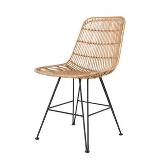 HK living Chair rattan - natural