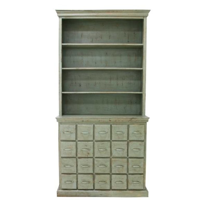 HK living-collectie Dresser vintage - green
