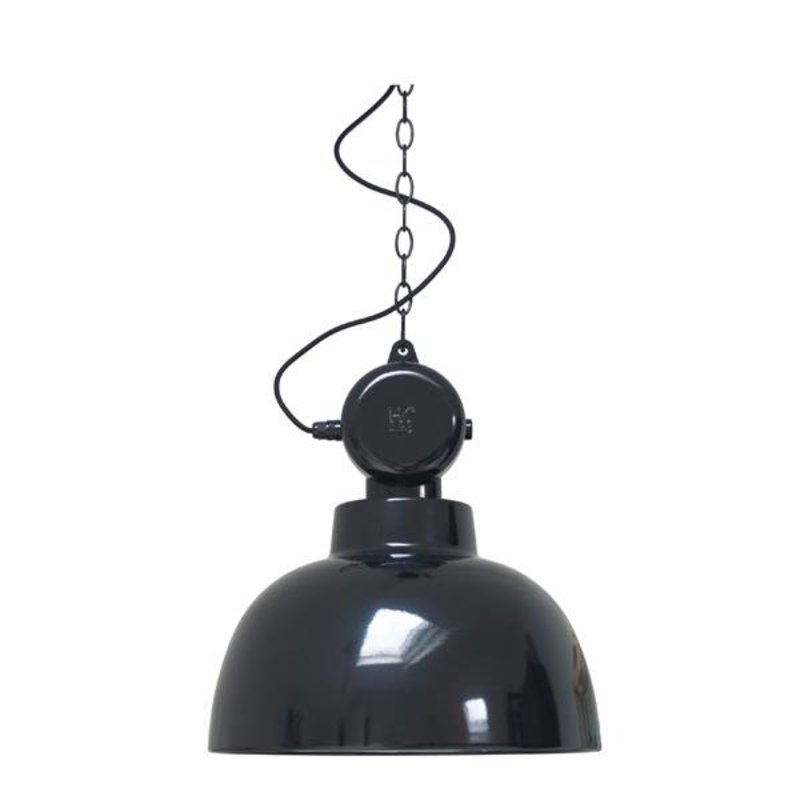 HK living-collectie Hanglamp Factory - zwart (medium)