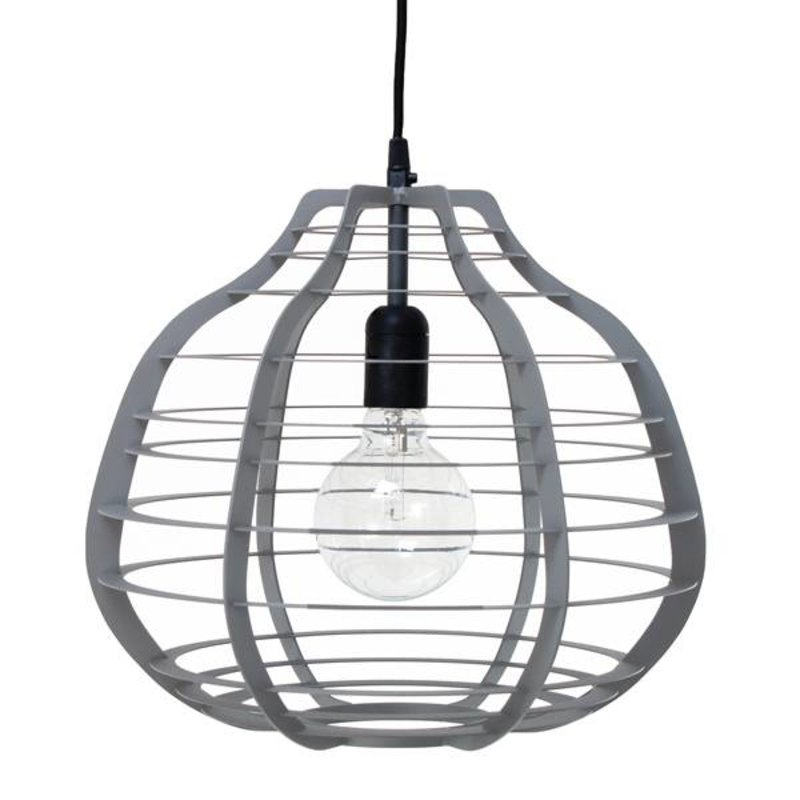 HKliving-collectie Lamp Lab XL - dull grey