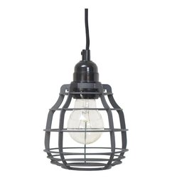 HK living  Lamp Lab (with plug) - dull grey