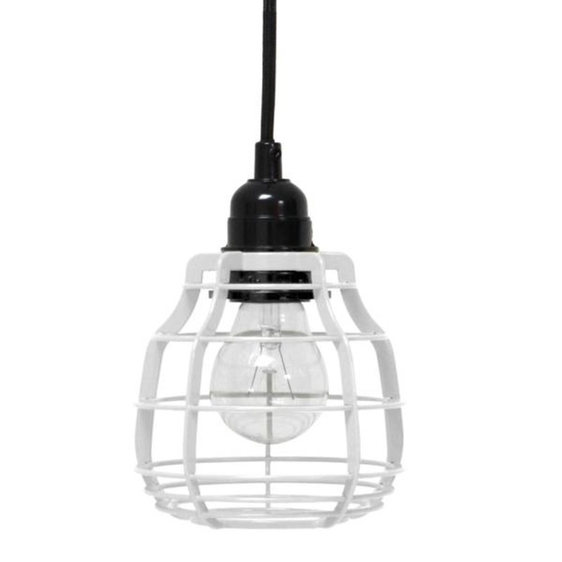 HK living-collectie Lamp Lab (with plug) - wit
