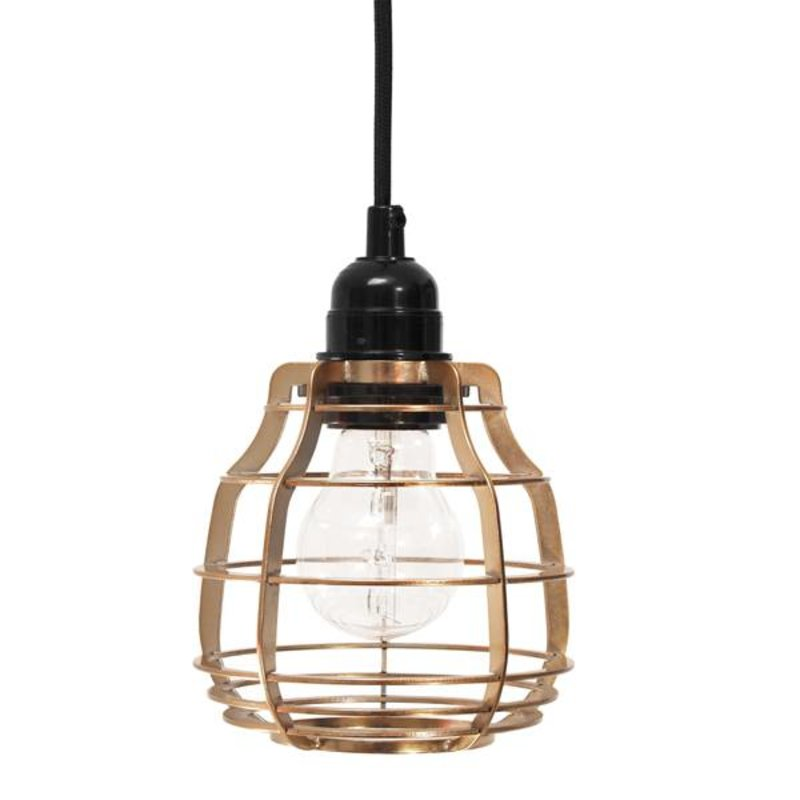 HK living-collectie Lamp Lab (with pendle) - brass