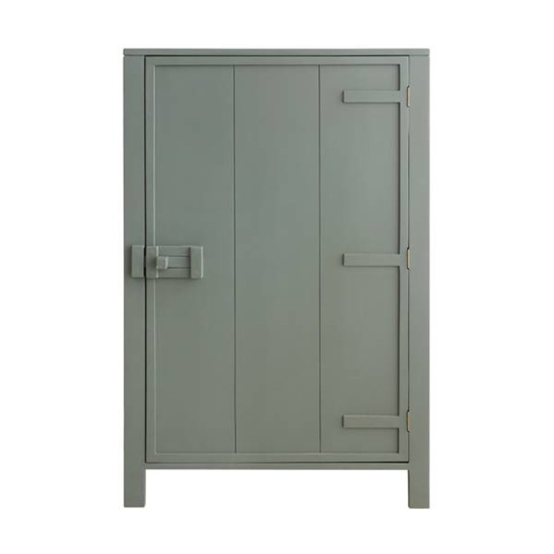 HK living-collectie Cabinet mango wood - army green
