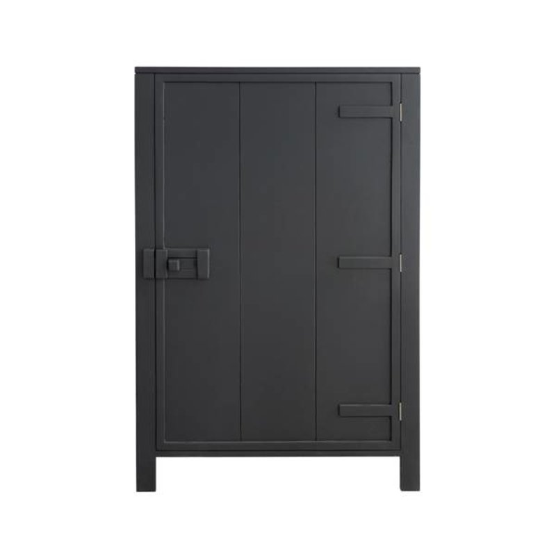HK living-collectie Cabinet mango wood - charcoal