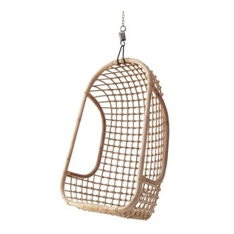 HKliving Hammock chair rattan - natural