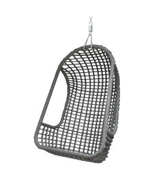 HK living  Hangstoel outdoor - grijs