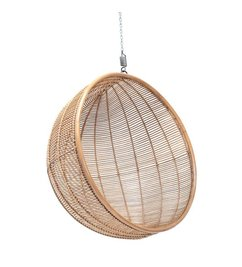 HK living-collectie Hammock chair rattan ball - natural