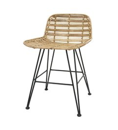 HK living-collectie Dining chair rattan - natural
