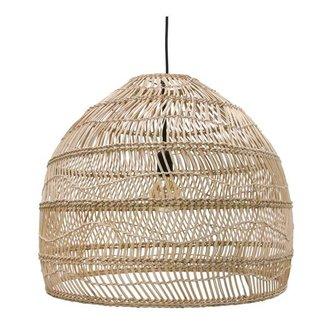 HKliving Hanglamp riet - naturel (dia 60)