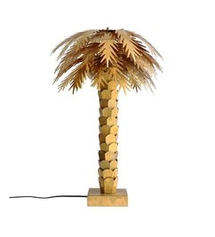 HK living-collectie Tafellamp palm - messing