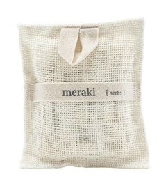 Meraki-collectie Bath mitt herbs