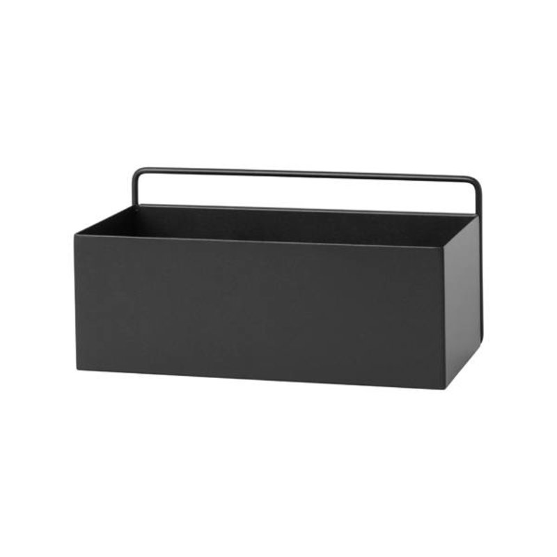 ferm LIVING-collectie ferm LIVING wall box rectangle - black