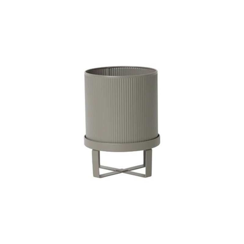 ferm LIVING-collectie Flowerpot Bau - grey (dia 18)