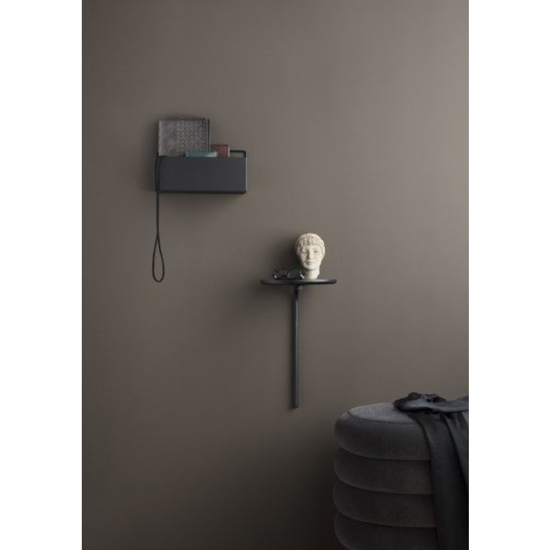 ferm LIVING-collectie Wall box rectangle - black