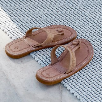 Tine K Home Leather sandal