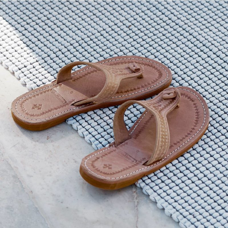 Tine K Home-collectie Leather sandal