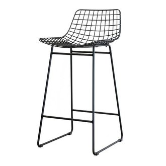 HKliving Barstool wire - black