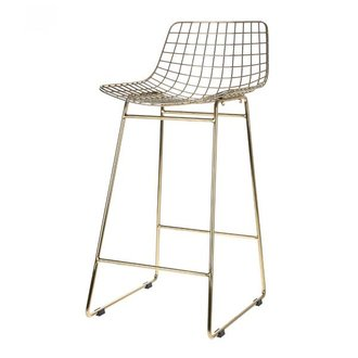 HKliving Barstool wire - brass