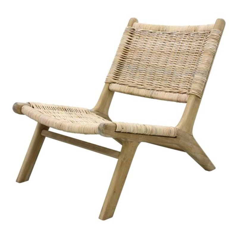 HK living-collectie Lounge chair wicker