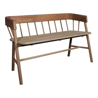 HK living Bench teakwood