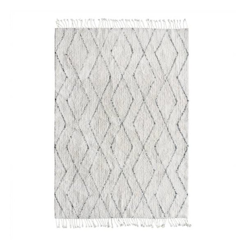 HKliving-collectie Rug Berber black - white
