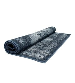 HK living  Rug overdyed blue - grey