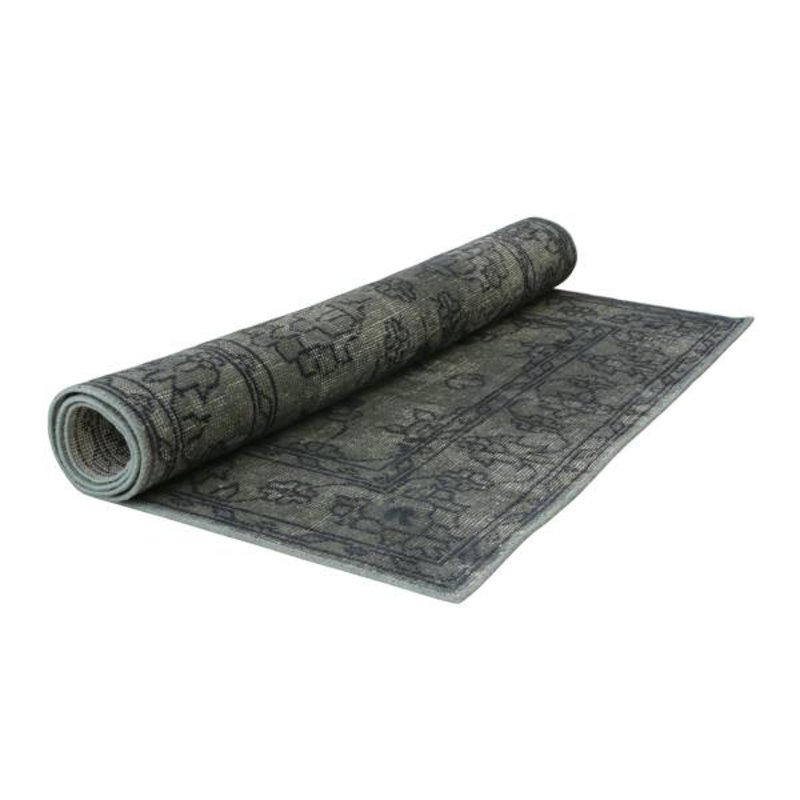 HK living-collectie Rug overdyed - army green