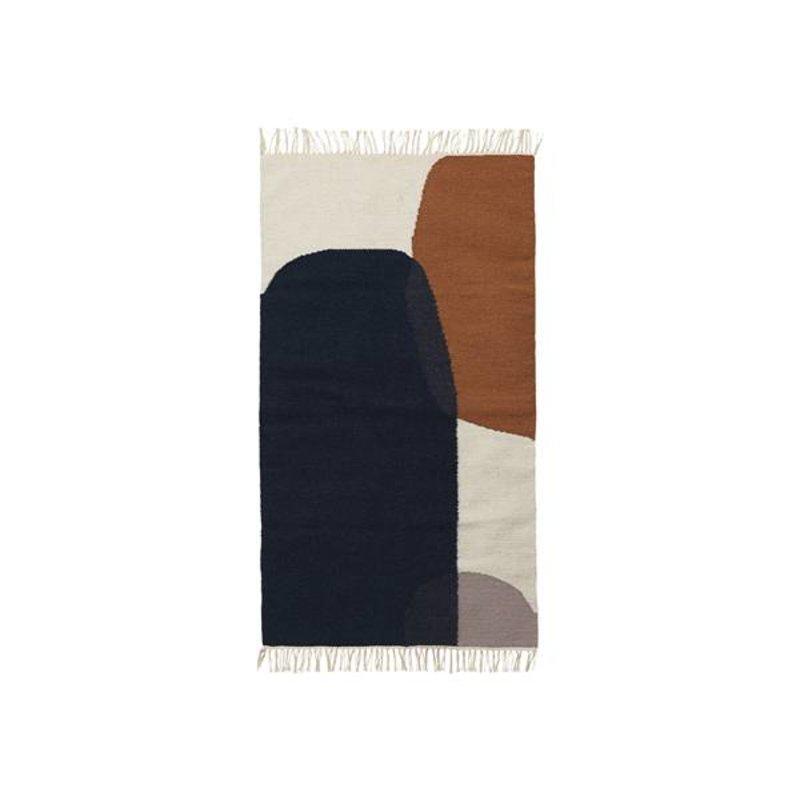 ferm LIVING-collectie Kelim vloerkleed Merge (small)