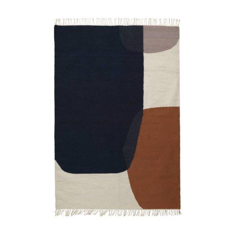 ferm LIVING-collectie Kelim vloerkleed Merge (large)