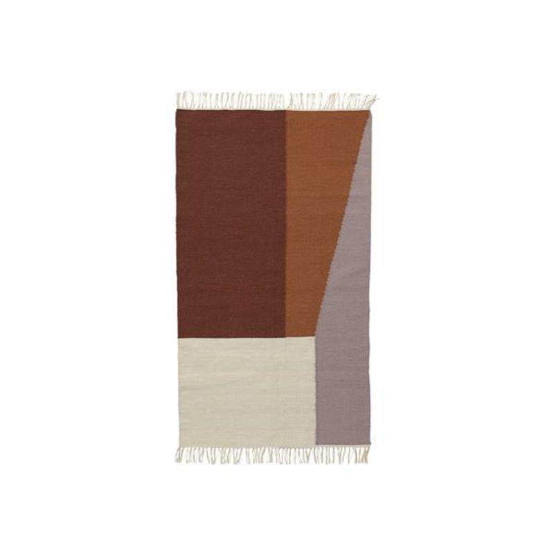 ferm LIVING-collectie Kelim vloerkleed Borders (small)