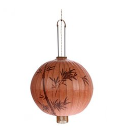 HK living-collectie Taiwanese lantern XL - terracotta