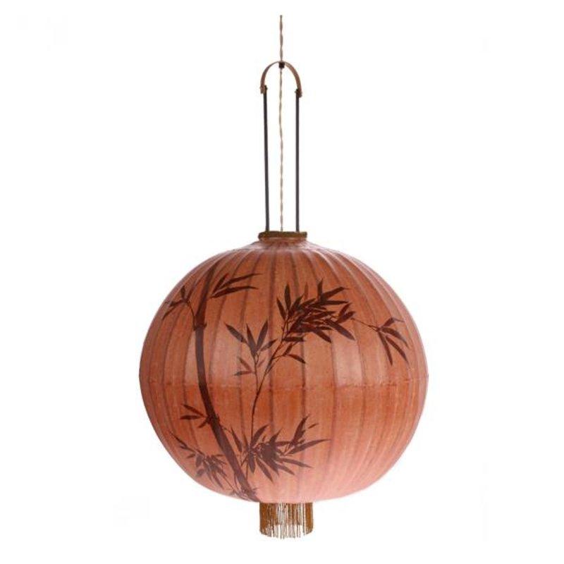 HKliving-collectie Taiwanese lantaarn XL - terracotta