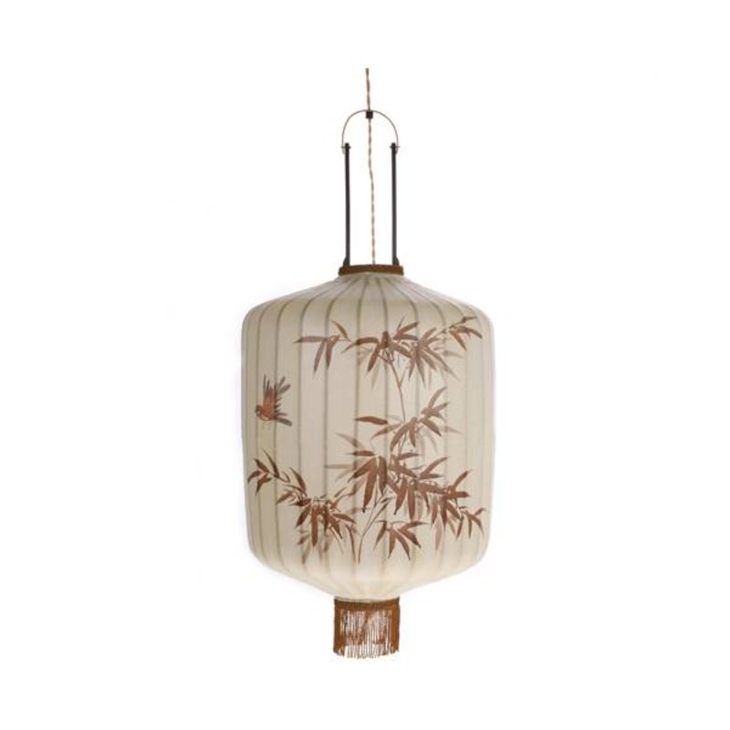 HK living-collectie HK Living Taiwanese lantaarn L - crème