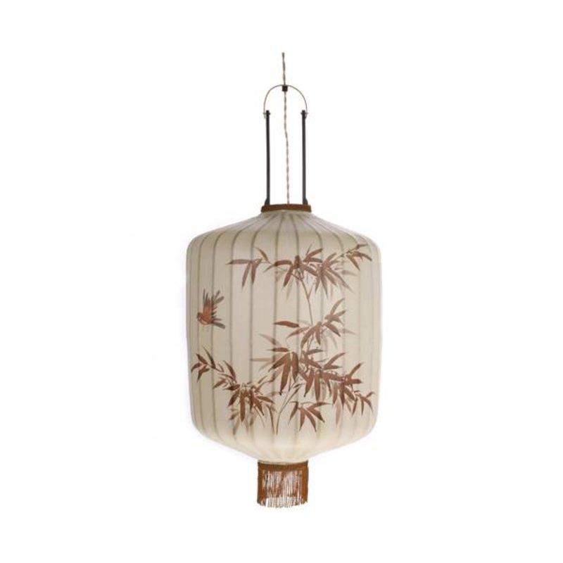 HKliving-collectie Taiwanese lantern L - crème