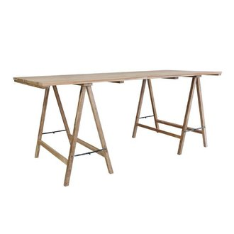 HKliving Underpin table teak