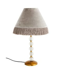 Madam Stoltz Velvet table lamp
