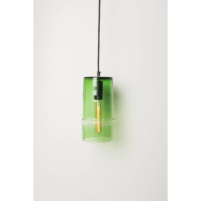Urban Nature Culture-collectie Lamp recycled glas Costa verde groen