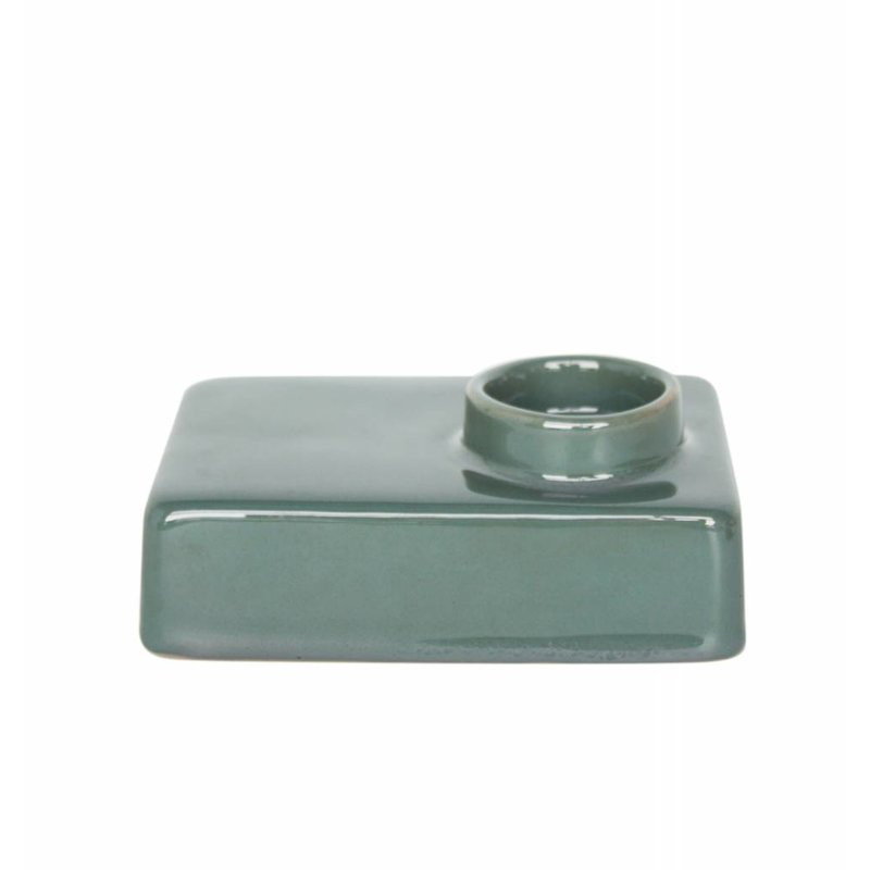 Urban Nature Culture-collectie wax light holder stone silver pine