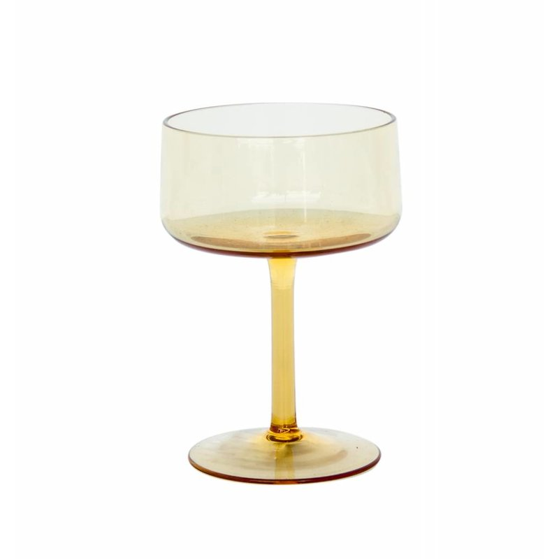 Urban Nature Culture-collectie glass vintage yolk yellow